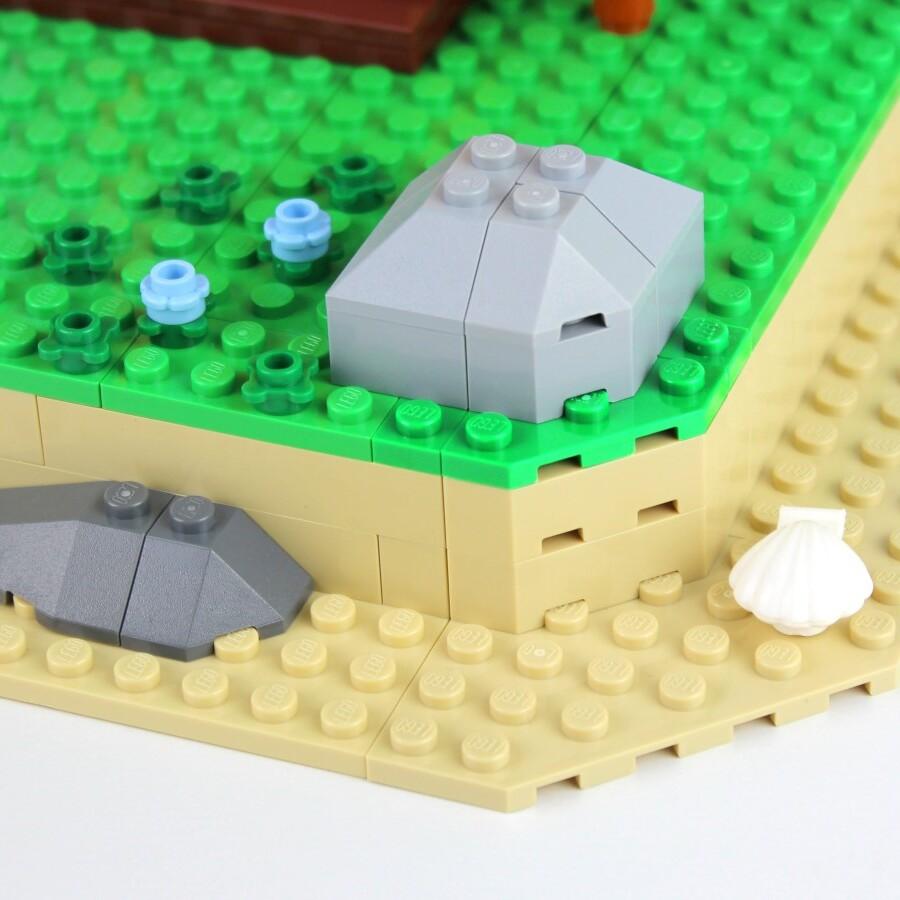 LEGO Ideas Animal Crossing New Horizons Paradise