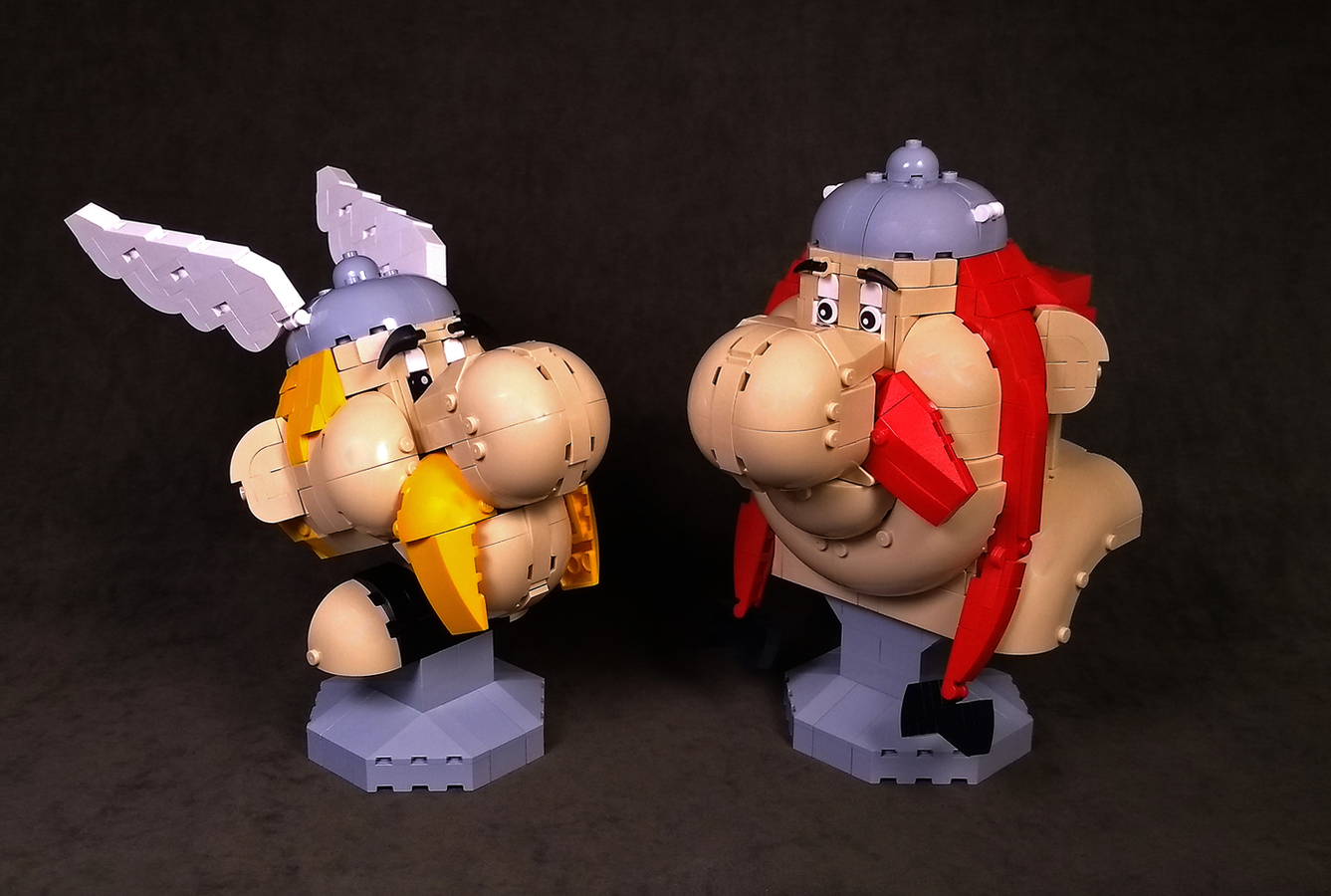 LEGO Ideas Asterix and Obelix