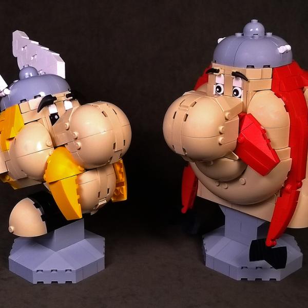 LEGO Ideas Asterix and Obelix