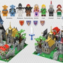 LEGO Ideas Hyrule Castle - The Legend of Zelda (2)
