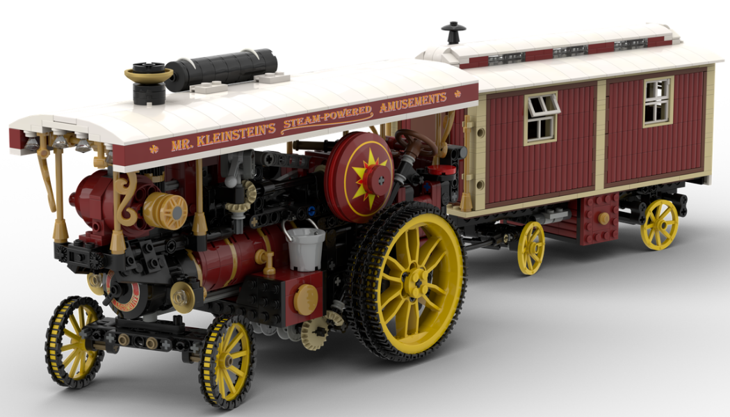 LEGO Ideas Showman's Engine