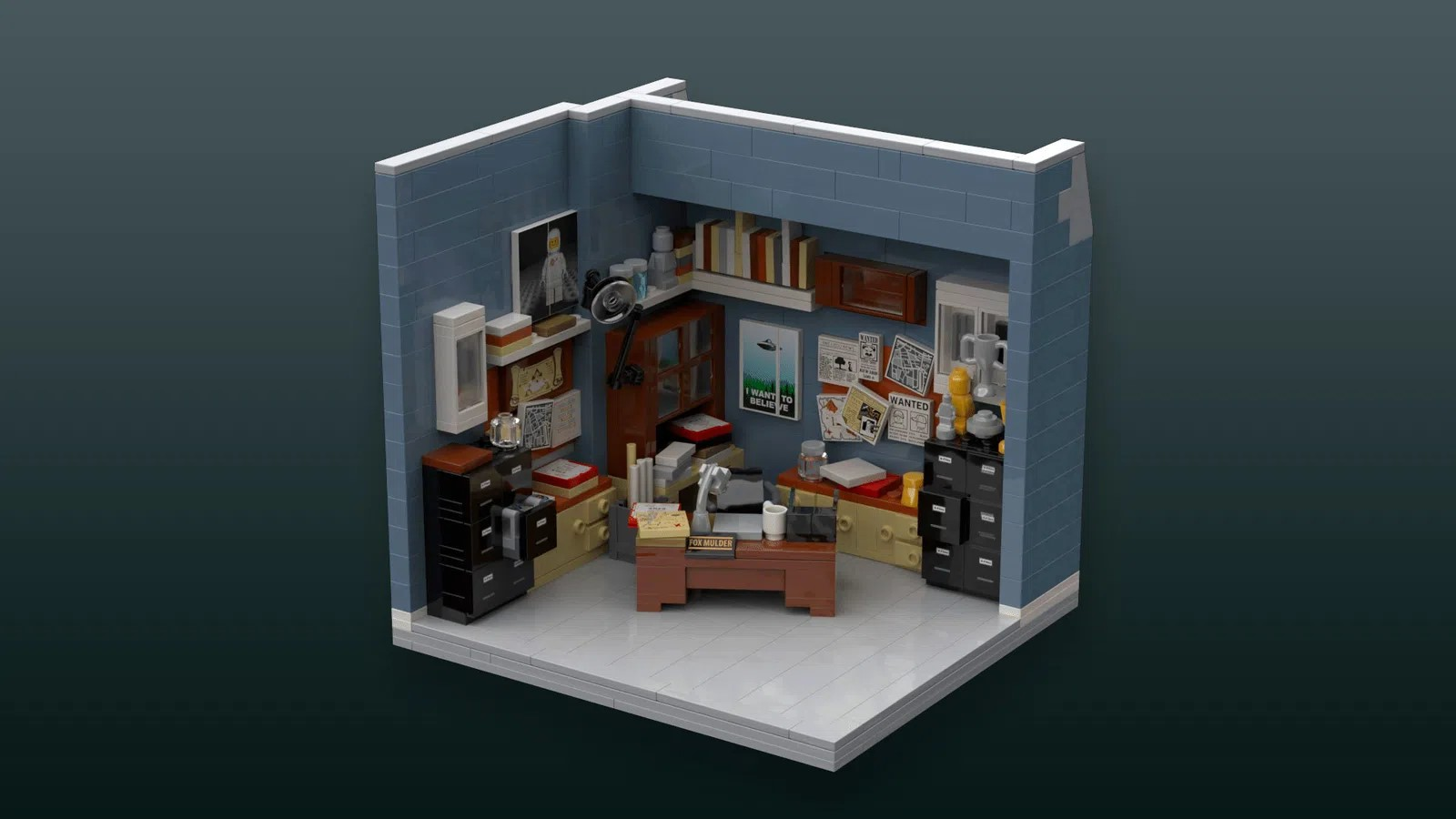 LEGO Ideas The X-Files I Want to Believe