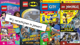LEGO Magazines en boeken januari 2021