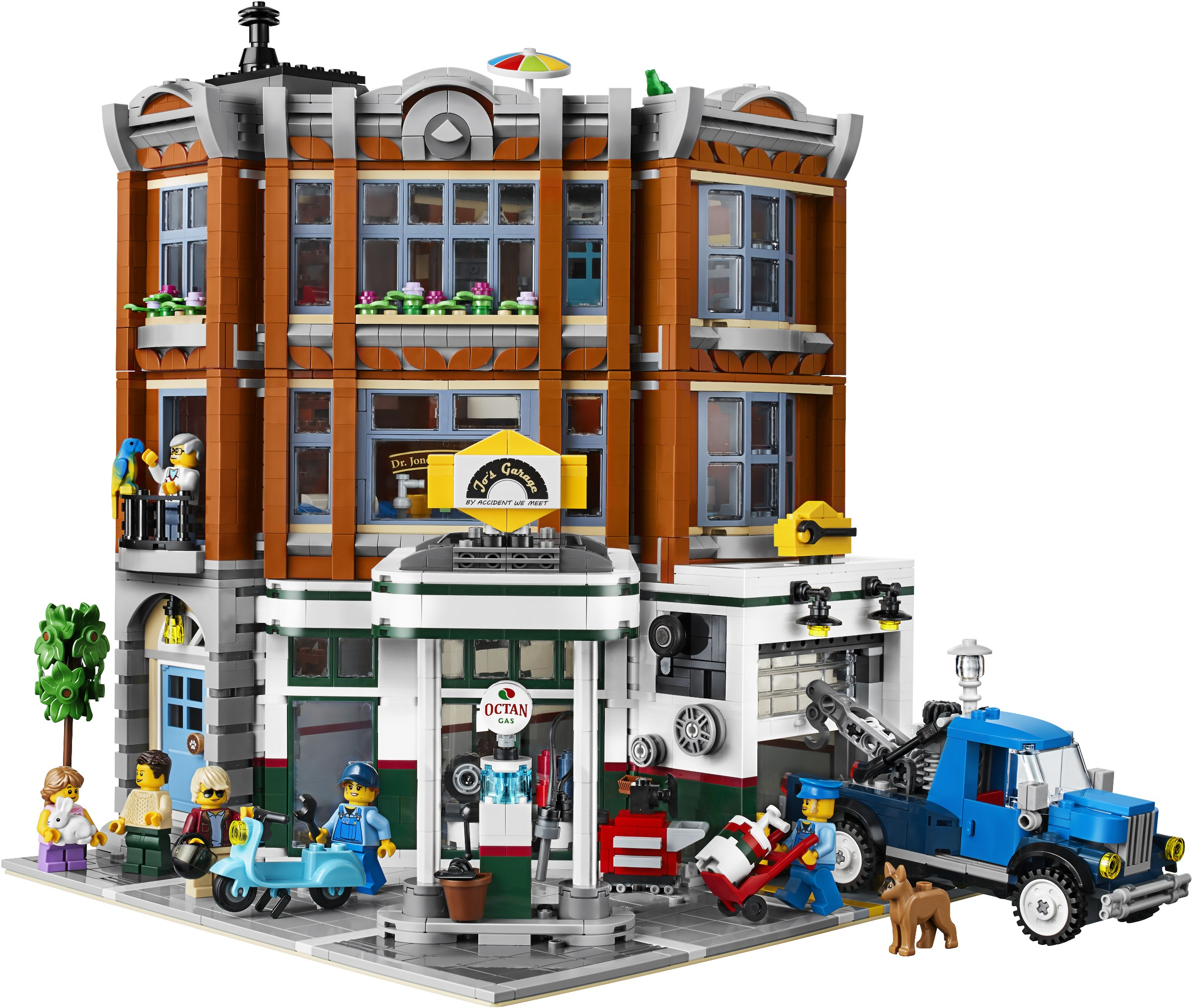 LEGO Modular Buildings met meeste onderdelen