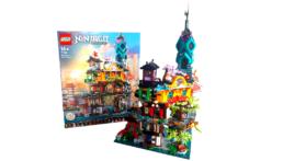 LEGO Ninjago 71741 Ninjago City Gardens (1)