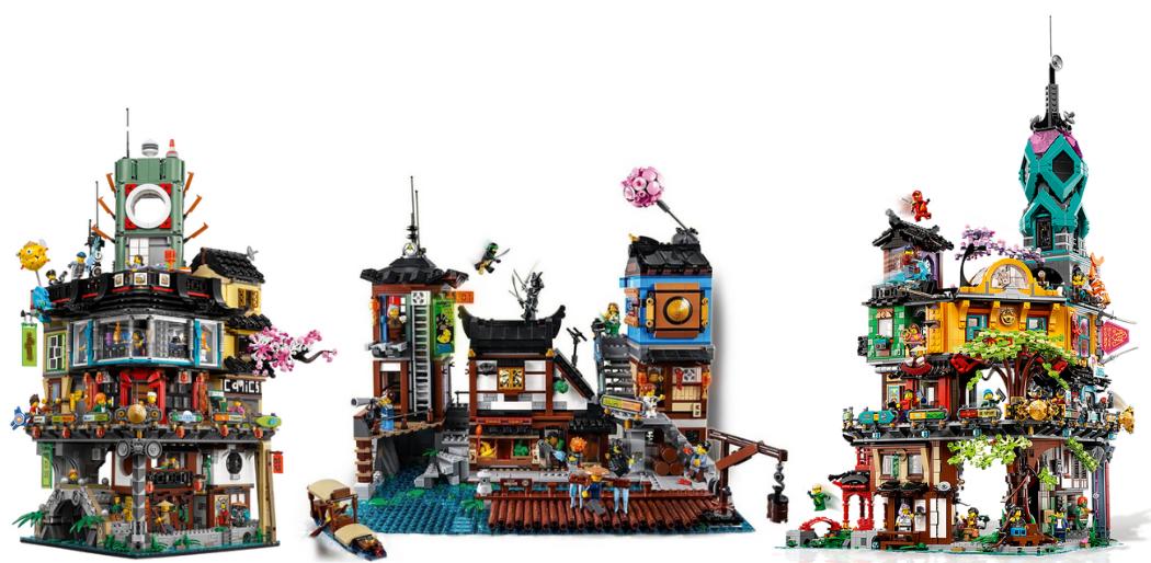 LEGO Ninjago Modulars