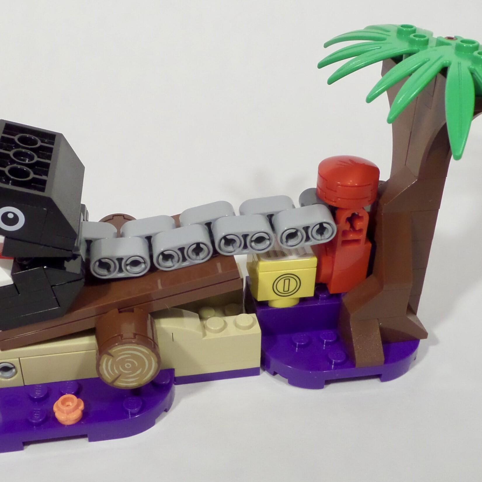 LEGO Super Mario 71381 Chain Chomp Jungle Encounter