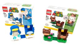 LEGO Super Mario 71384 Penguin Mario & 71385 Tanooki Mario