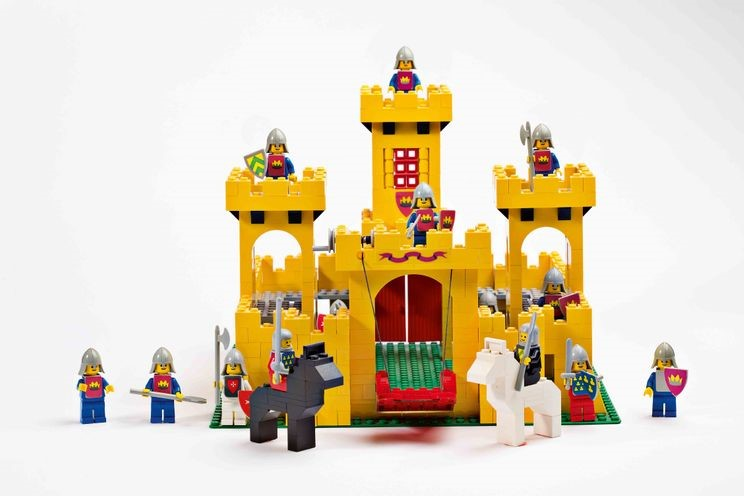LEGO The Yellow Castle