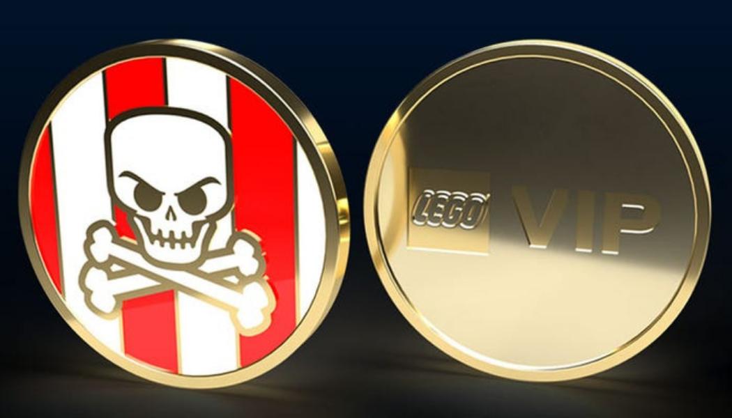 LEGO VIP Collectible Coin Series 'Pirates Coin'