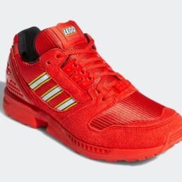 LEGO-adidas-ZX-8000-red