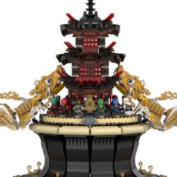 Ninjago Golden Dragon Reliquary
