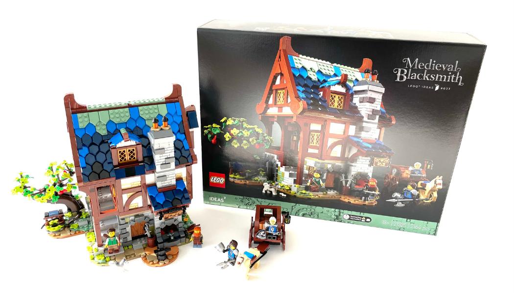 LEGO Ideas 21325 Medieval Blacksmith
