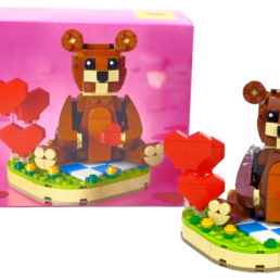 [Review] LEGO 40462 Valentine's Brown Bear