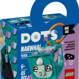 LEGO DOTS 41928 Narwal Bag Tag (1)