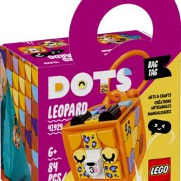LEGO DOTS 41929 Leopard Bag Tag (1)