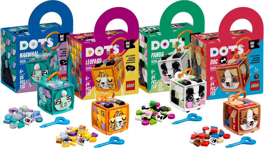 LEGO DOTS Bag Tags