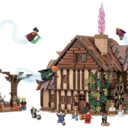 LEGO Ideas Hocus Pocus - Sanderson Sisters Cottage Updated