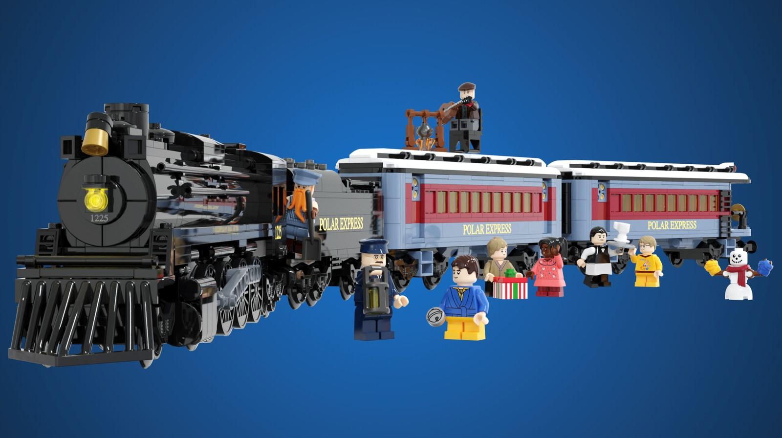 LEGO Ideas The Polar Express (1)