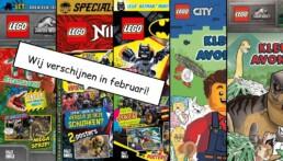 LEGO Magazines en boeken februari 2021