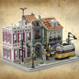 LEGO ideas - The Lisbon Tram