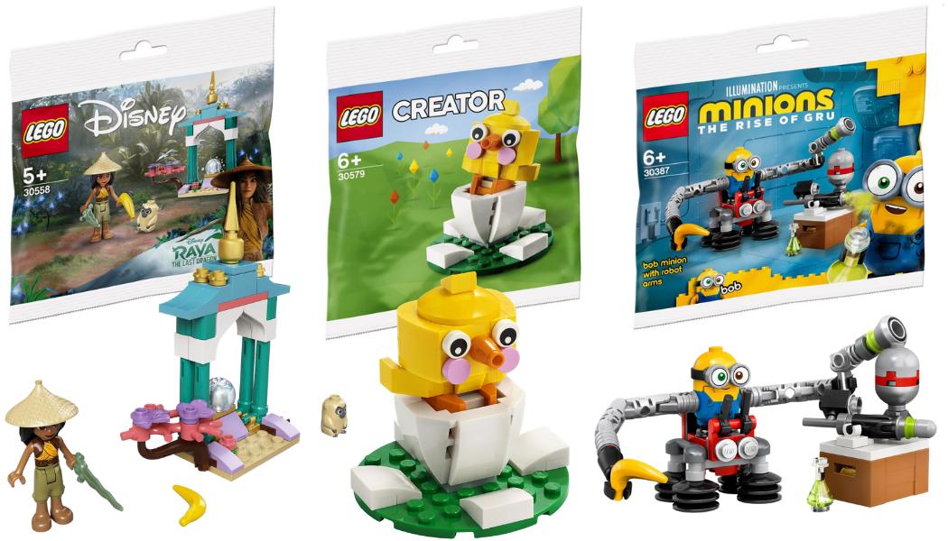 Nieuwe LEGO 2021 Polybags opgedoken