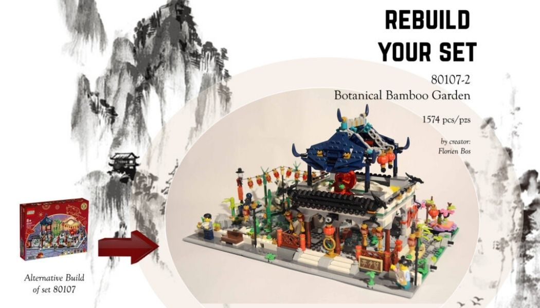 [Rebuild Your Set] LEGO Botanical Bamboo Garden