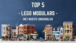 [TOP 5] LEGO Modular Buildings met meeste onderdelen