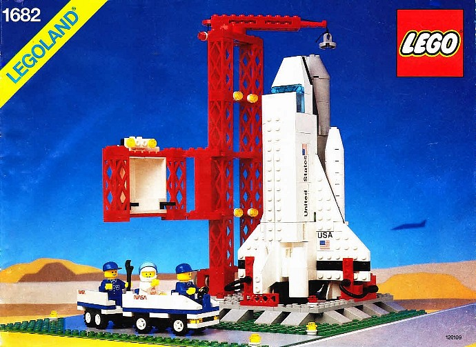 LEGO Town 1682 Space Shuttle Launch