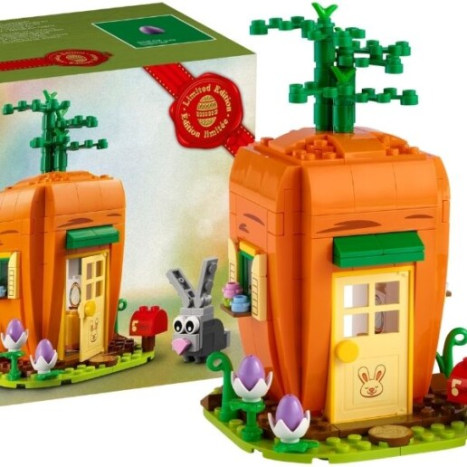 LEGO 40449 Easter Bunny's Carrot House