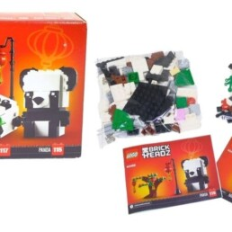 [Review] LEGO Chinese New Year Panda's