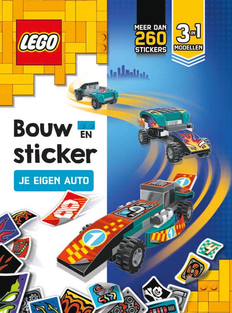 LEGO Bouw en sticker je eigen auto