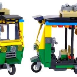 LEGO Creator 40468 Taxi - LEGO Creator 40469 Tuk Tuk