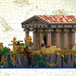 LEGO Ideas Ancient Greek Temple