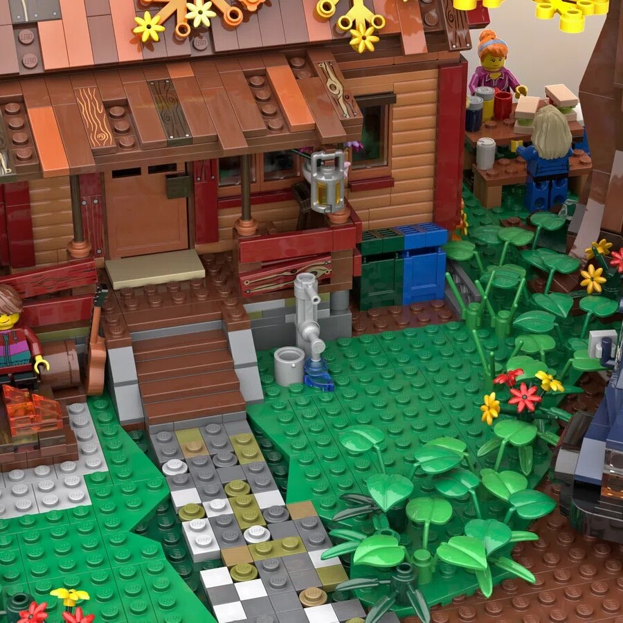 LEGO Ideas Autumn Cabin Retreat