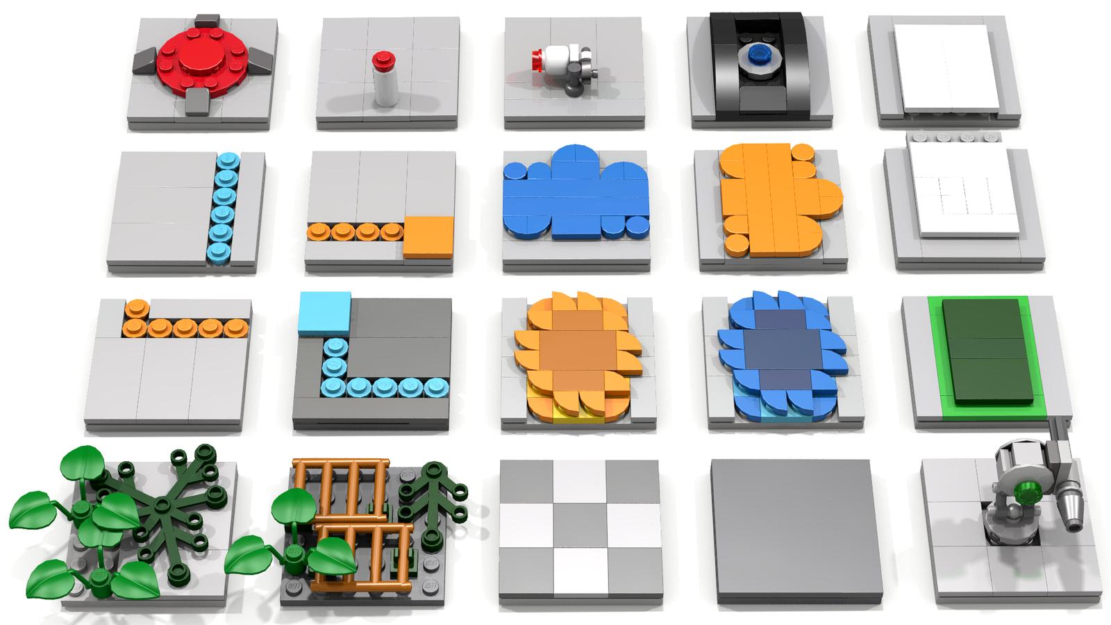 LEGO Ideas Modular Portal Testing Chamber