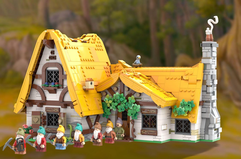 LEGO Ideas Snow White and the Seven Dwarfs