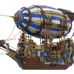LEGO Ideas Steampunk Airship