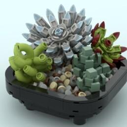 LEGO Ideas Succulent Garden