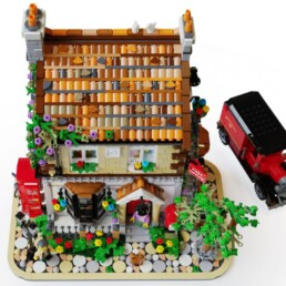 LEGO Ideas The Village Post Office