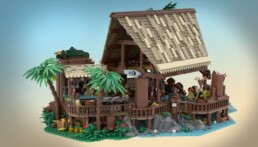 LEGO Ideas Tiki Lounge