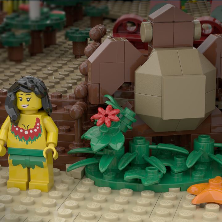 LEGO Ideas Tiki Lounge