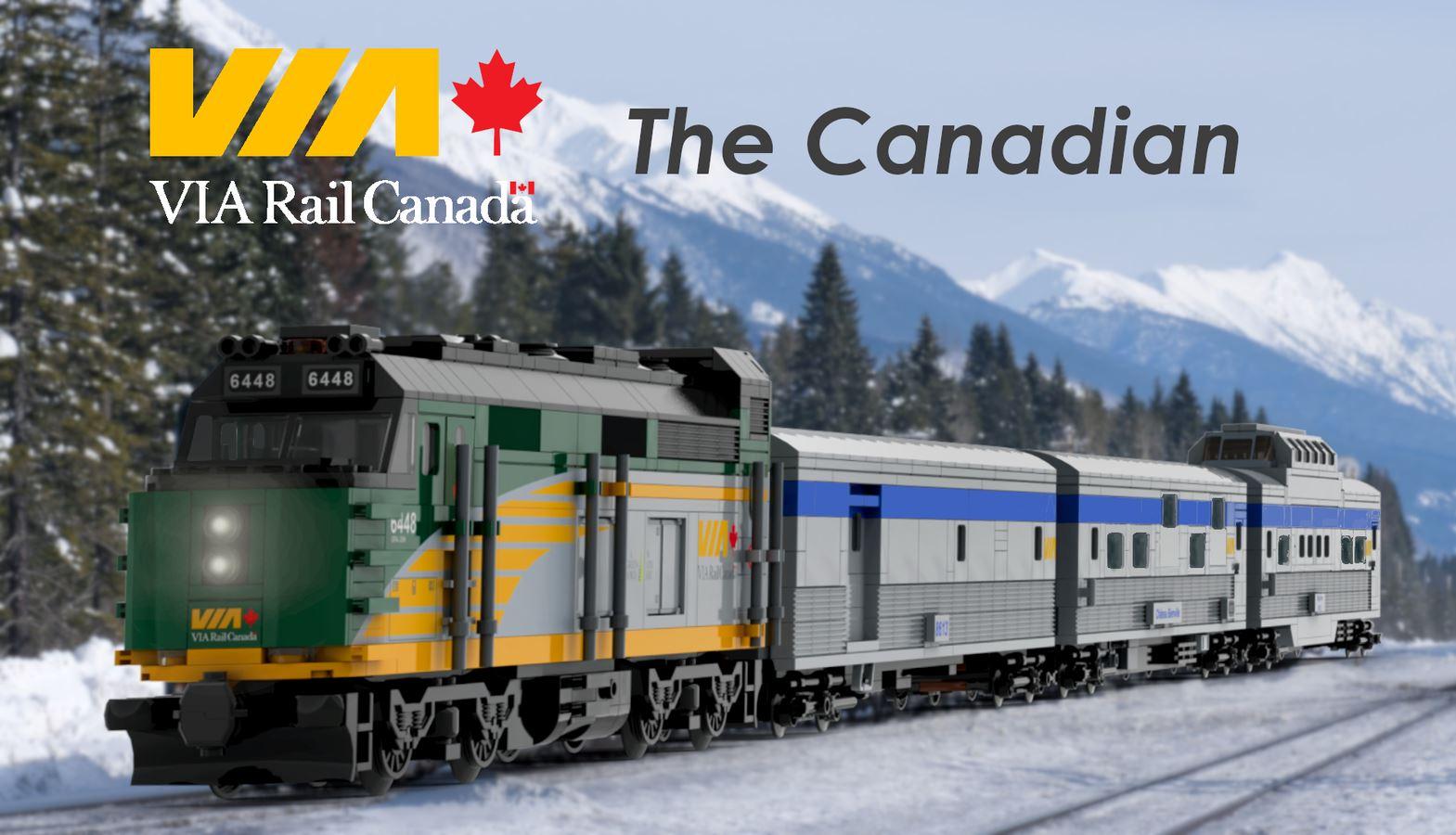 LEGO Ideas Via Rail Canada - The Canadian