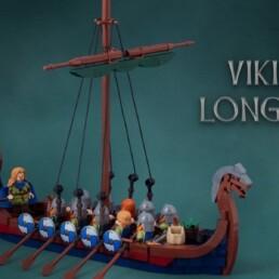 LEGO Ideas Vikings Longship