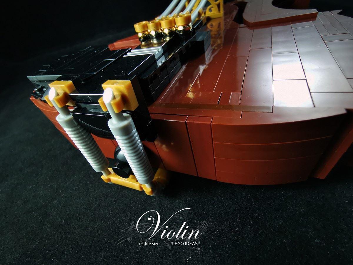 LEGO Ideas Violin