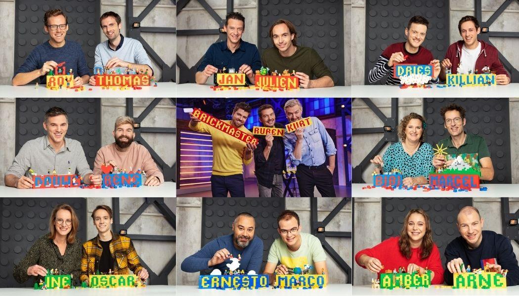 LEGO Masters 2021 - De kandidaten