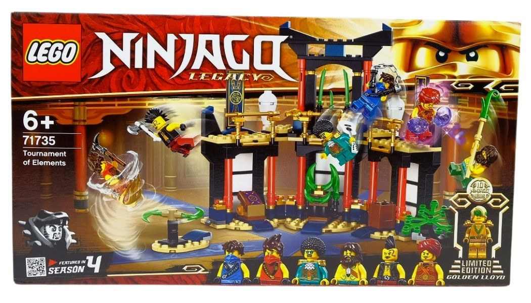 LEGO Ninjago 71735 Tournament of Elements