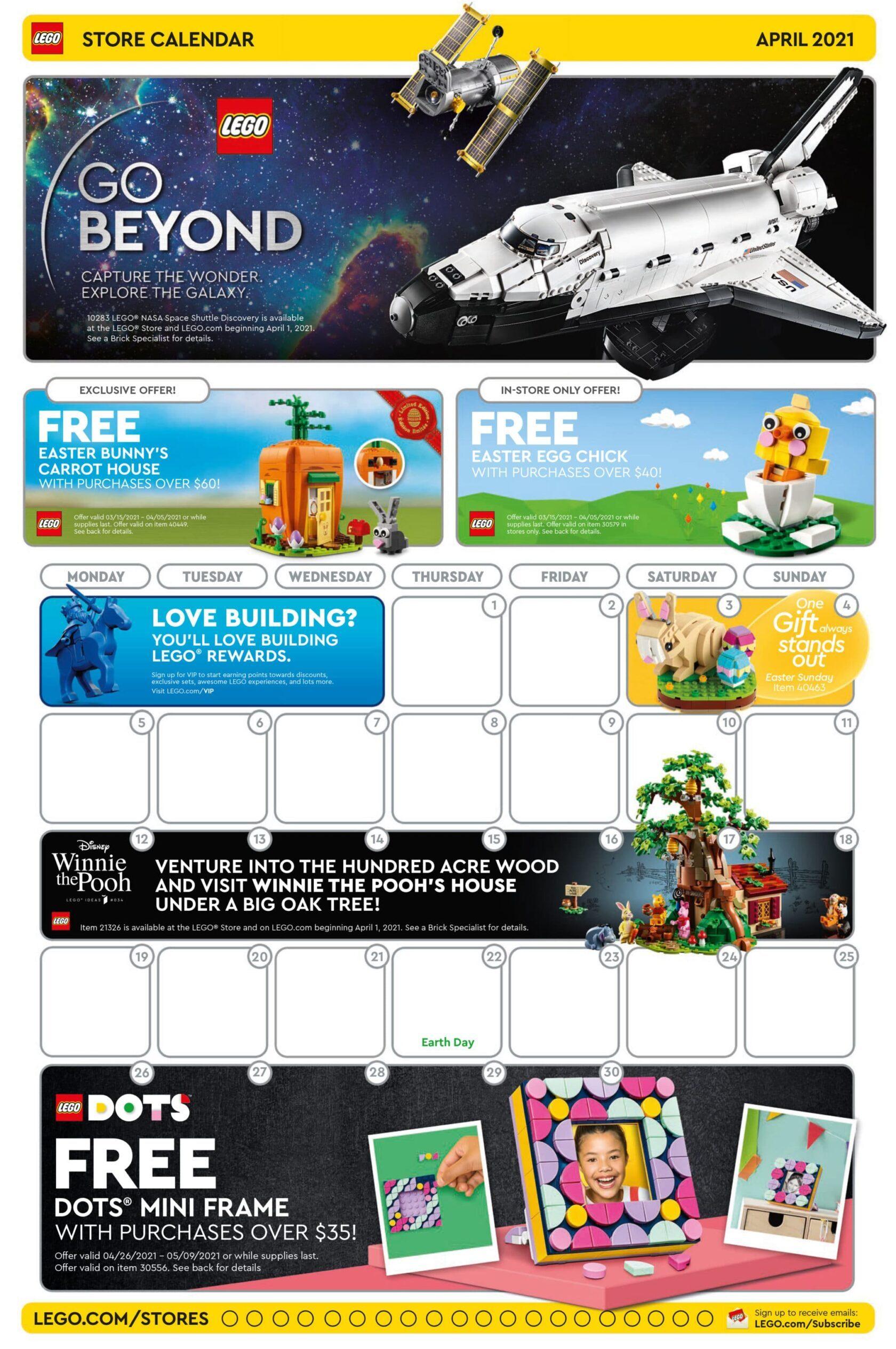 LEGO Promoties april 2021