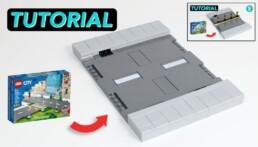 LEGO Road Plates - Sidewalks - Curves - Lane Dividers