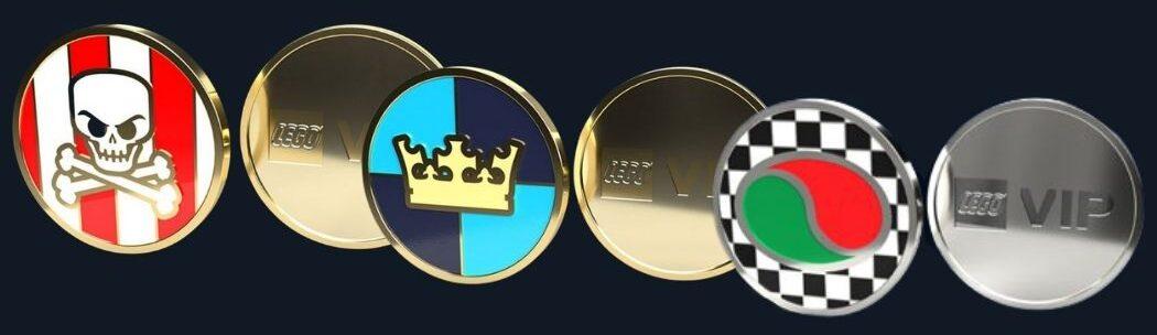 LEGO VIP Coins